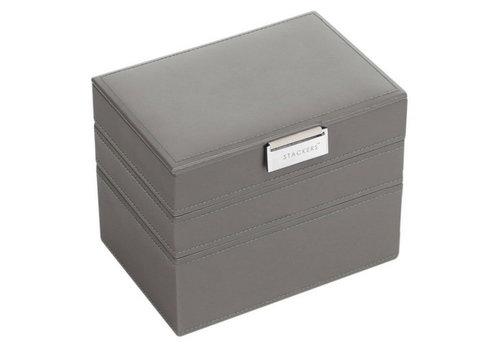 STACKERS Box Mini 3-Set Juwelendoos - Mink