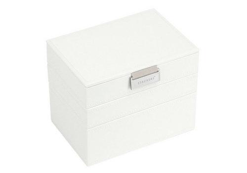 STACKERS Box Mini 3-Set Juwelendoos - White