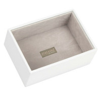 Mini 2-Set Juwelen Sieraden Doos | White & Stone