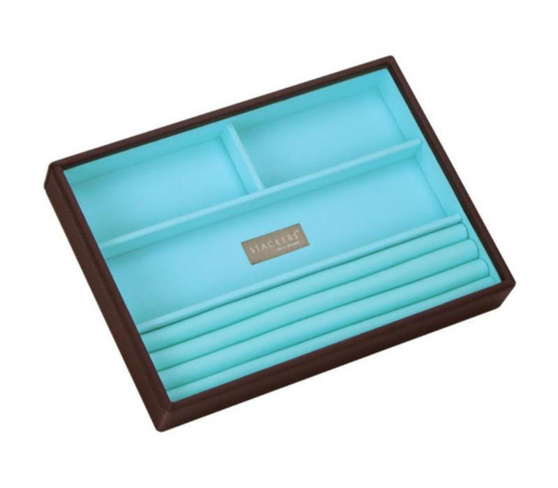 Box Classic 4-Set stapelbare sieradendoos in Choc & Brights