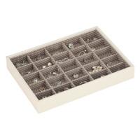 Box Classic 5-Set stapelbare sieradendoos in Vanilla & Mocha