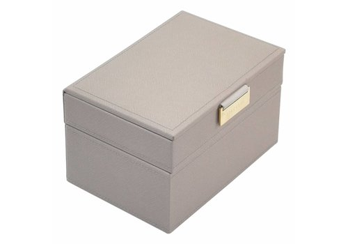 STACKERS Mini 2-Set   Taupe & Grey