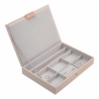 Classic 3-Set Juwelen Sieraden Doos   Blush & Grey