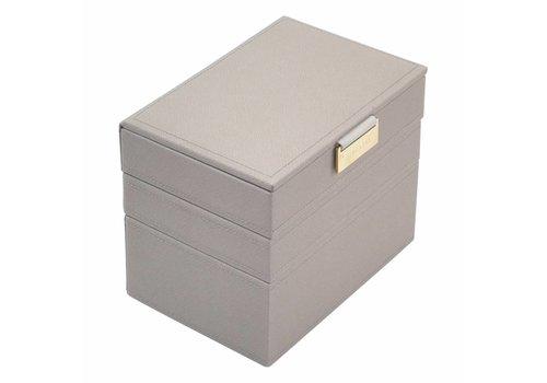 STACKERS Mini Juwelendoos 3-Set | Taupe & Grey