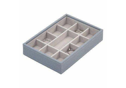 STACKERS Mini 11-Box | Dusky Blue & Grey