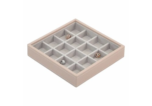 STACKERS Charm 16-Box | Blush & Grey