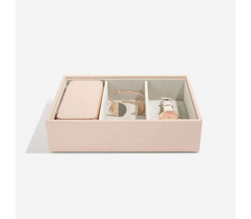 "Classic ""Etui Travel Box"" in Blush & Grey"