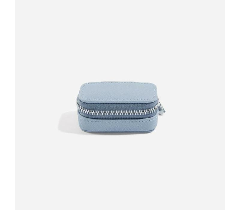 "Mini ""Etui Travel Box"" in Dusky Blue & Grey"
