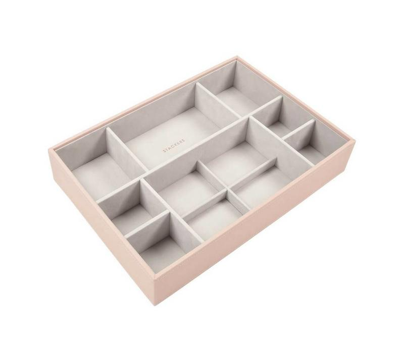 Supersize 11-Section-Box in Blush & Grey