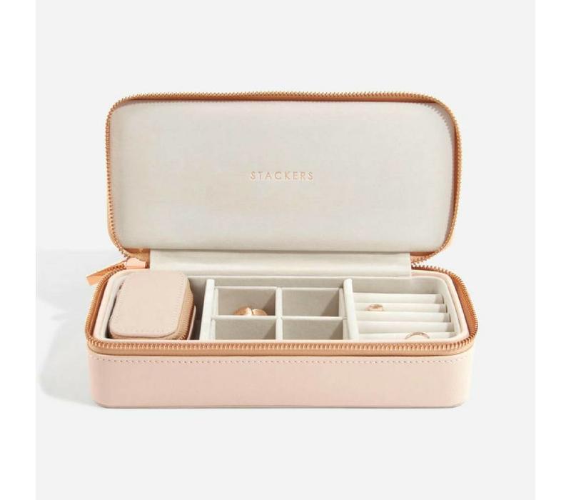 Supersize Etui Travel Box Set | Blush & Grey