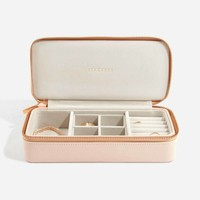 "Supersize ""Etui Travel Box"" Set in Blush & Grey"