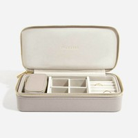 "Supersize ""Etui Travel Box"" Set in  Taupe & Grey"