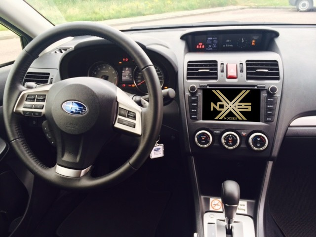 Navigation/Infotainment Subaru Forester/XV 2012>