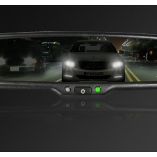 Auto-Dimming mirror monitor