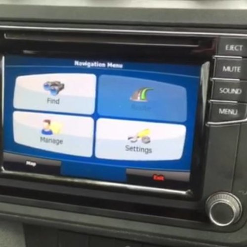 Composition Media navigatie upgrade VW Transporter/Caddy 2016-2017-2018