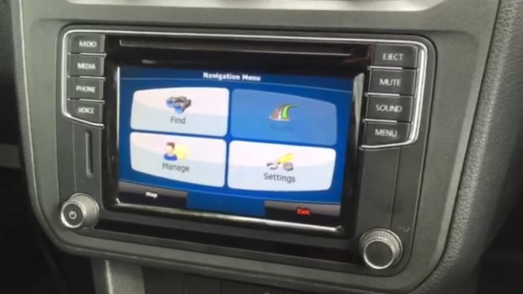 Composition Media navigatie upgrade VW Transporter/Caddy 2016-2017-2018