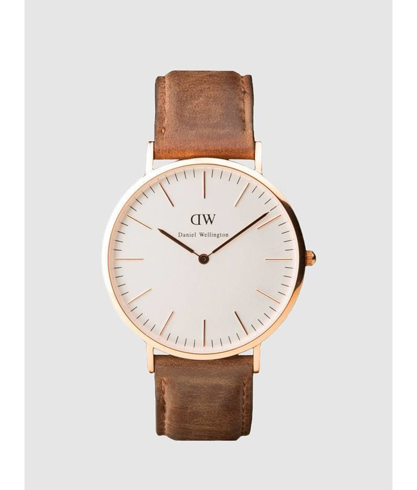 Classic Cardiff 40 mm Watch Rose Gold
