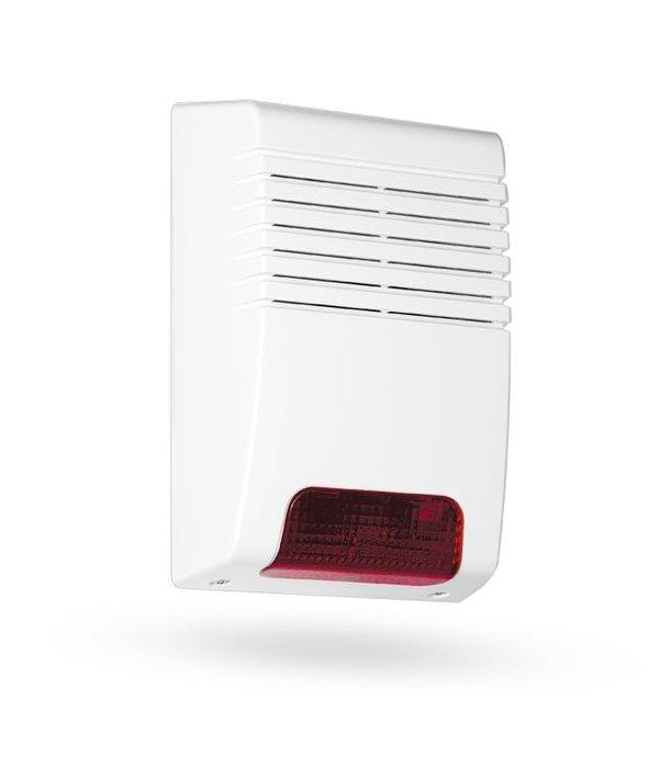 Jablotron Oasis draadloze buiten sirene flitser voor het Jablotron Oasis alarmsysteem
