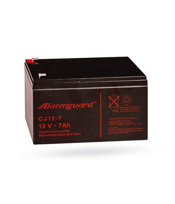 Jablotron Back-up accu 7Ah 12 volt voor de JA83K en JA106K(R) centrale
