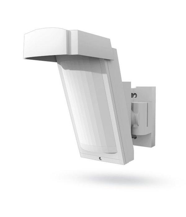 Jablotron JA158P draadloze bewegingsdetector voor buiten geschikt.