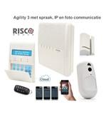Risco Agility 3 kit draadloos alarmsysteem met IP en foto PIR