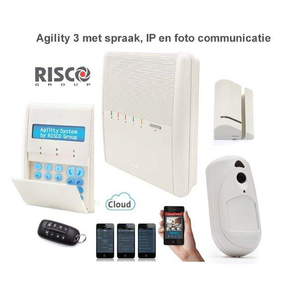 Agility 3 alarmsysteem IP en foto PIR