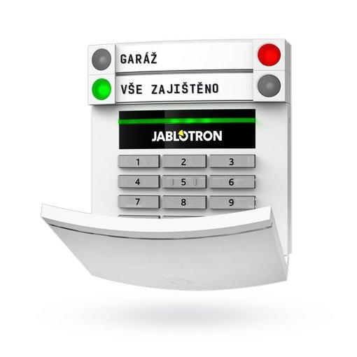 Jablotron 100 BUS bekabeld bedieningspaneel zonder display JA113E