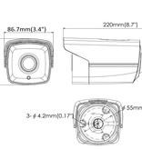 Hikvision Turbo Full HD 3MP bullet camera EXIR nachtzicht.