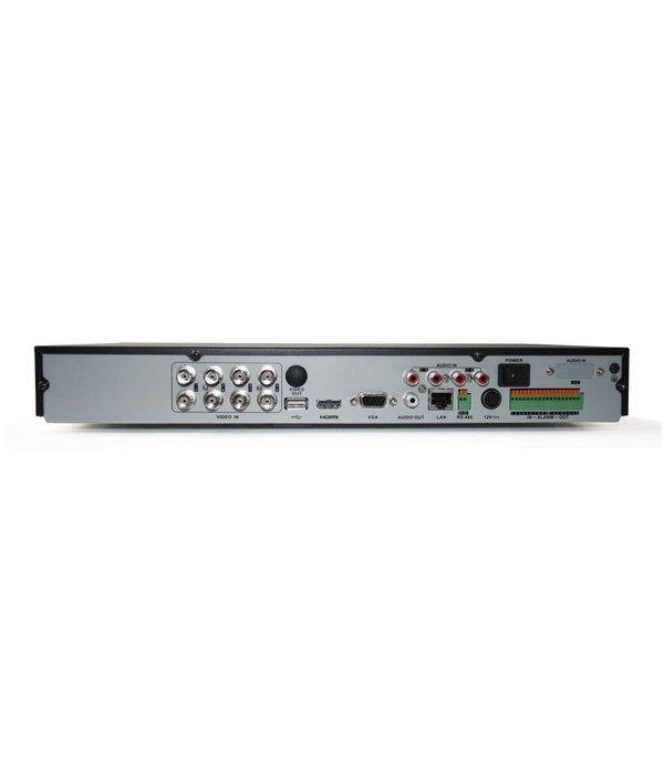 Hikvision Turbo DVR recorder Full HD 3MP 8 camera aansluitingen.
