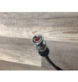 Coax stekker video signaal aansluiting.