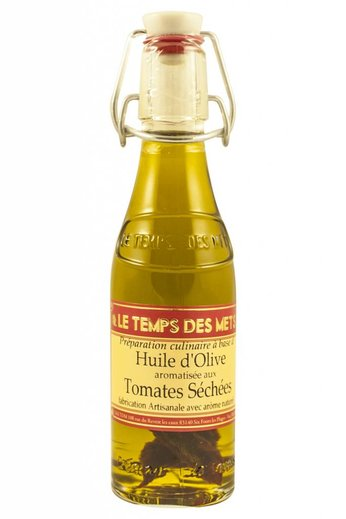 Le Temps des Mets Olijfolie, vierge extra, met gedroogde tomaten 20cl