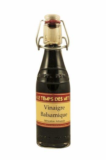 Le Temps des Mets Balsamico wijnazijn, vinaigre balsamique, 20 cl