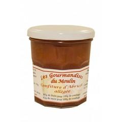 Moulin Jouve Abrikozen jam 84 gr fruit. pot 350 gr.