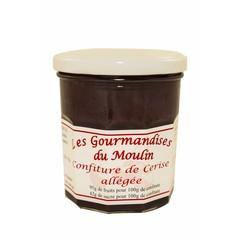 Moulin Jouve Kersen jam met 95 gr kersen. Pot à 350 gr.