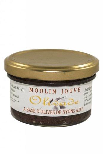 Moulin Jouve Olivade Noir van diverse soorten olijven 90 gr