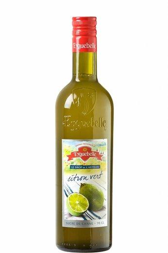 Eyguebelle Limoen siroop (Citron Vert) 70cl Eyguebelle