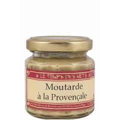 Le Temps des Mets Franse mosterd met Provençaalse kruiden 100 gram