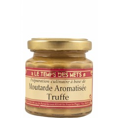 Le Temps des Mets Franse mosterd met truffel aroma 100 gram