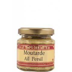 Le Temps des Mets Franse mosterd met knoflook en peterselie 100 gram