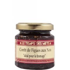 Le Temps des Mets Confijt van vijgen en noten 125 gr.