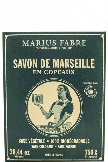 Marius Fabre De Laatste! Witte Marseillezeep zeepvlokken voor de was 750 gr.
