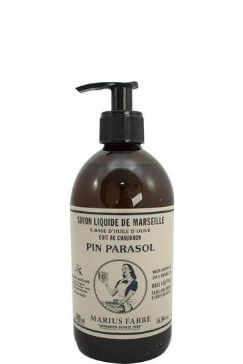 Marius Fabre Vloeibare Marseillezeep met Parasol den op basis van olijfolie 500 ml.