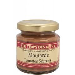 Le Temps des Mets Franse mosterd met gedroogde tomaten 100 gram