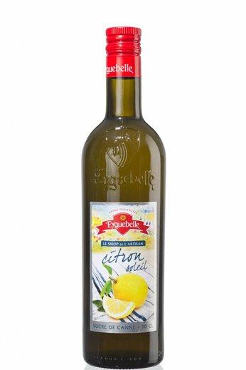 Eyguebelle Zonnige citroen (Citron soleil) siroop 70 cl Eyguebelle