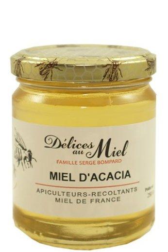 Délices au Miel Franse acaciahoning 250 gr van van Délices au Miel