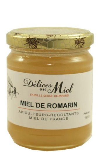 Délices au Miel Franse rozemarijnhoning 250 gr van Délices au Miel