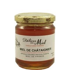 Délices au Miel Franse kastanje honing 250 gr