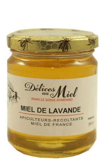 Délices au Miel Franse lavendel honing 250 gr van Délices au Miel