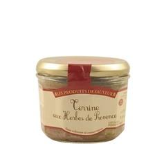 Le Temps des Mets Franse terrine met Provençaalse kruiden 180gr