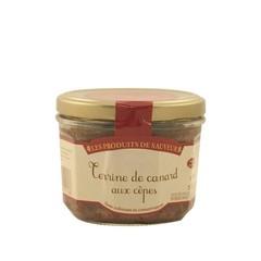 Le Temps des Mets Franse terrine van eend met eekhoorntjesbrood 180 gr